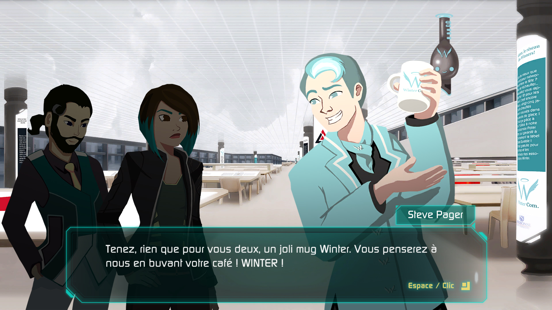 Hellink dialogue Steve Pager le lobbyiste de Winter